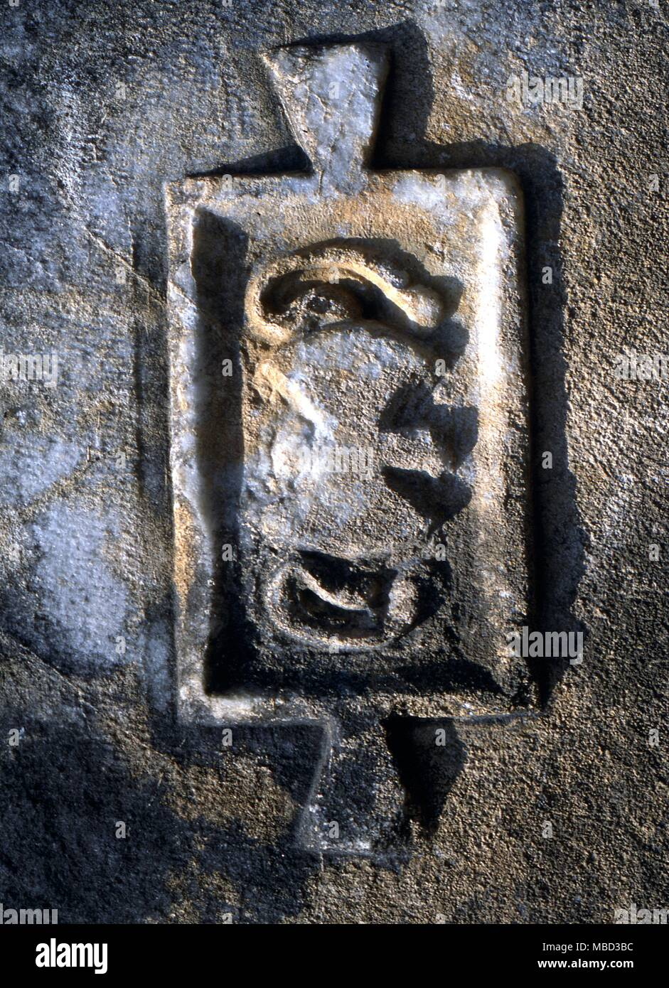 Symbols Double Axe Double Axe Of Cretan Origin With Human Ears