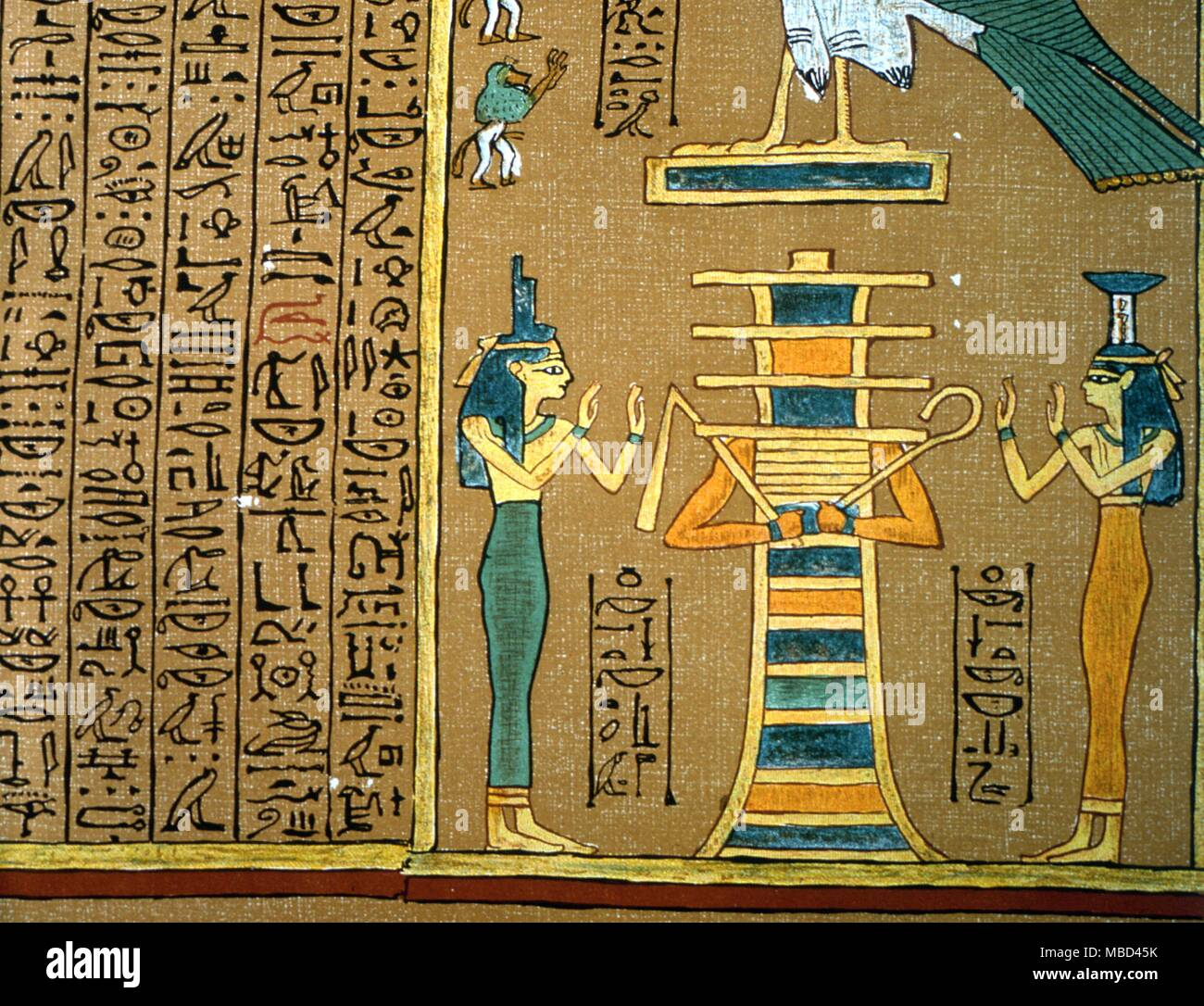 Egyptian Mythology Isis The Goddesses Isis And Her Sister