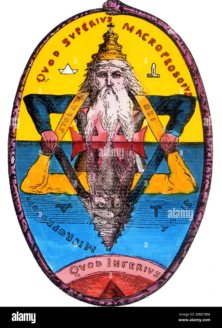 The Great Symbol Of Solomon The King Who Named The 72 Demons