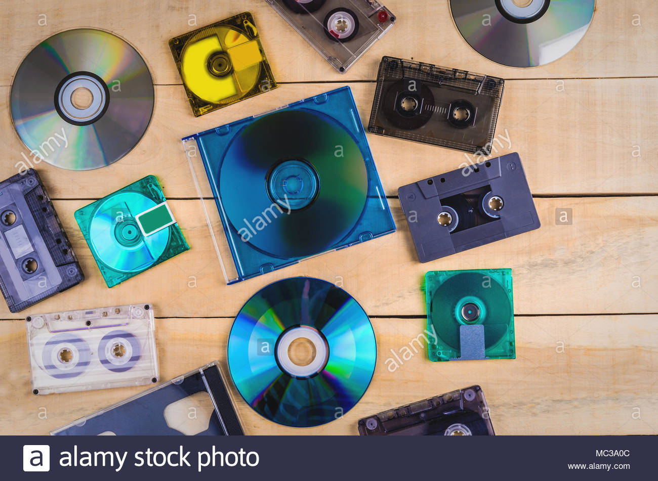 What discs to record music