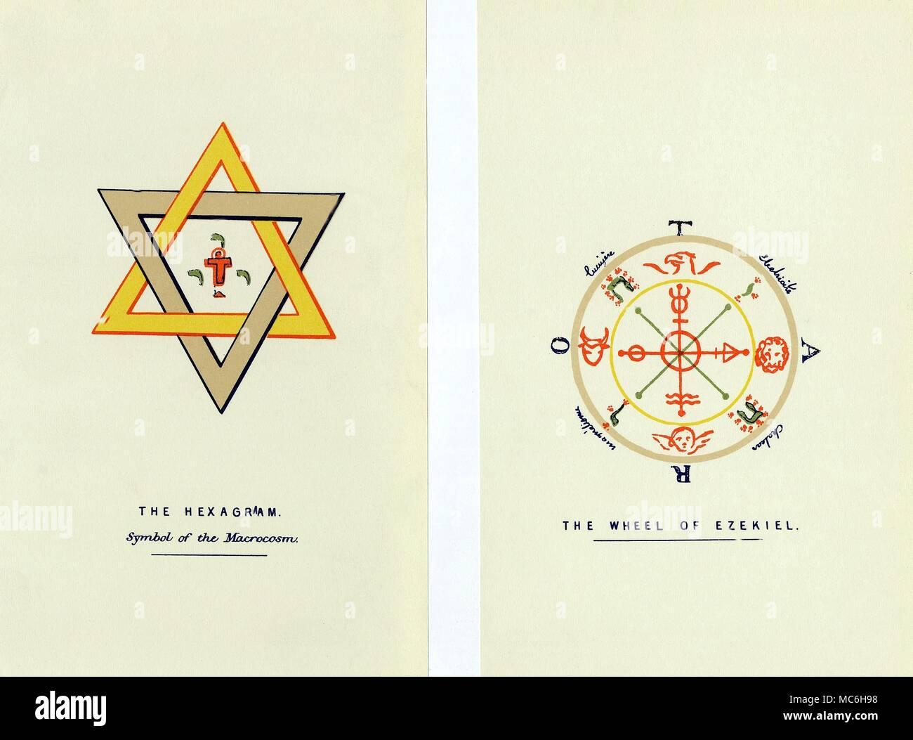 Magic Symbols The Hexagram And The Ezekiel Wheel Magic Symbols
