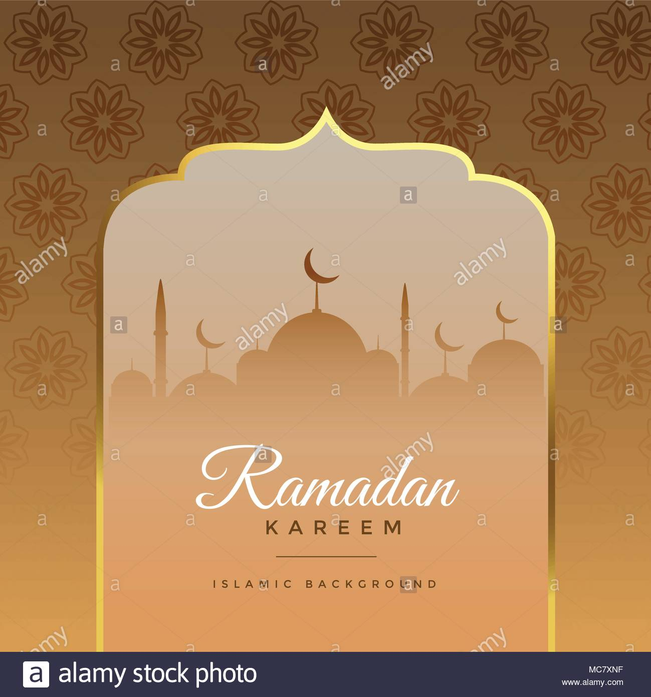 Beautiful ramadan kareem islamic greeting background stock vector beautiful ramadan kareem islamic greeting background m4hsunfo