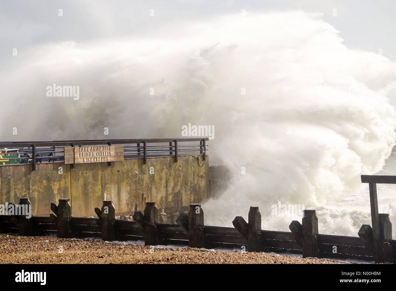 Hayling Island Storm