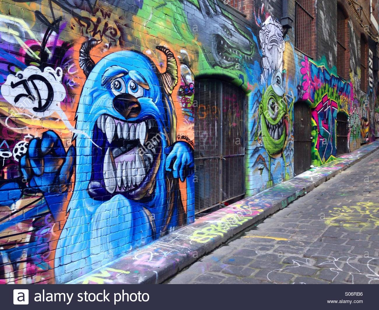 Graffiti art for sale melbourne - Hosier Lane Melbourne Grafitti Street Art Lane Way In Melbourne S Most Popular Street Art Spot Victoria