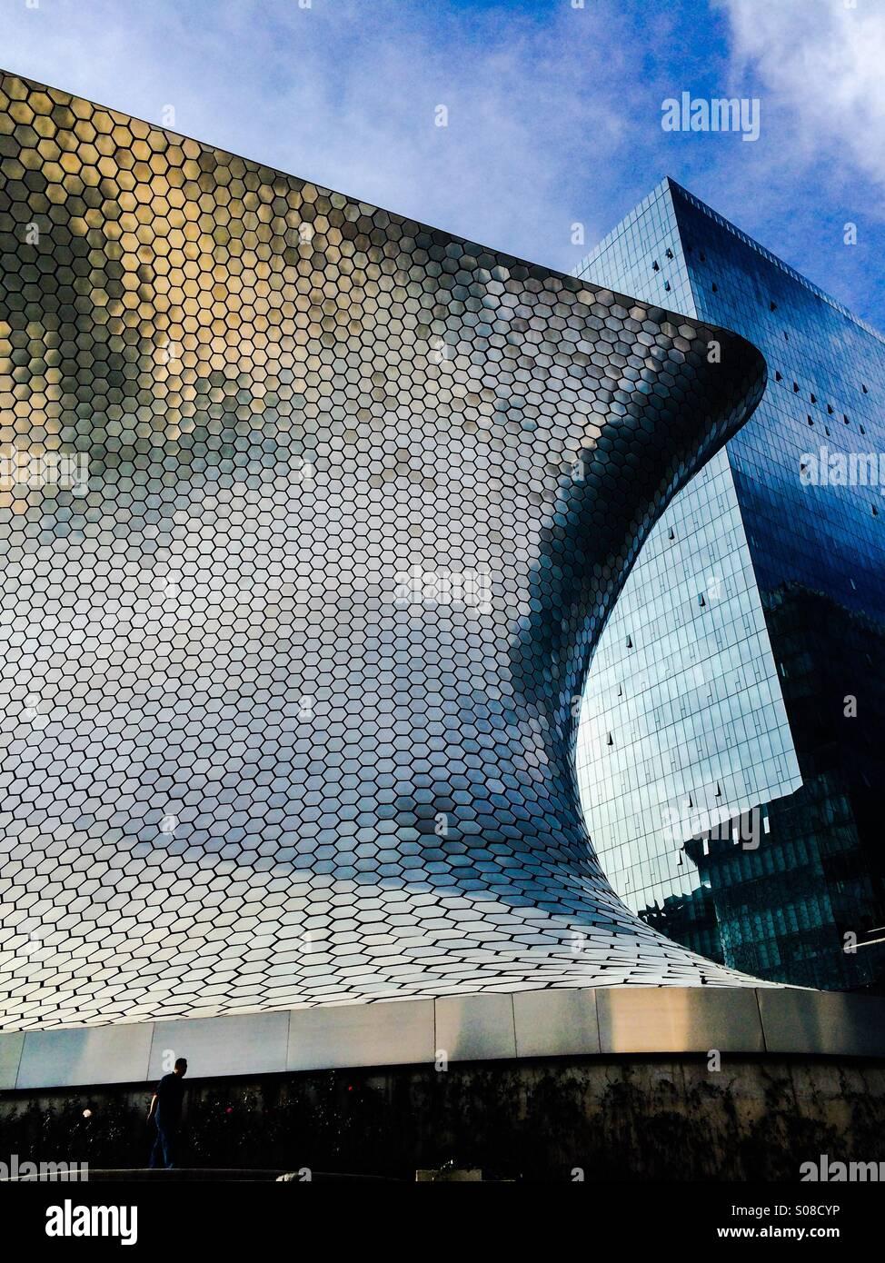 Soumaya Modern Art Museum In Mexico City