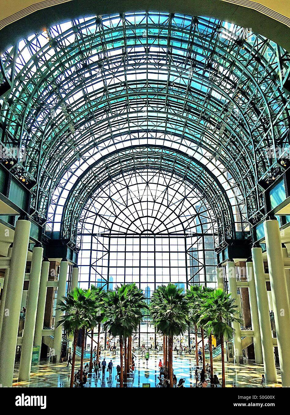 The Atrium In Brookfield Place Nyc Stock Photo 310137882