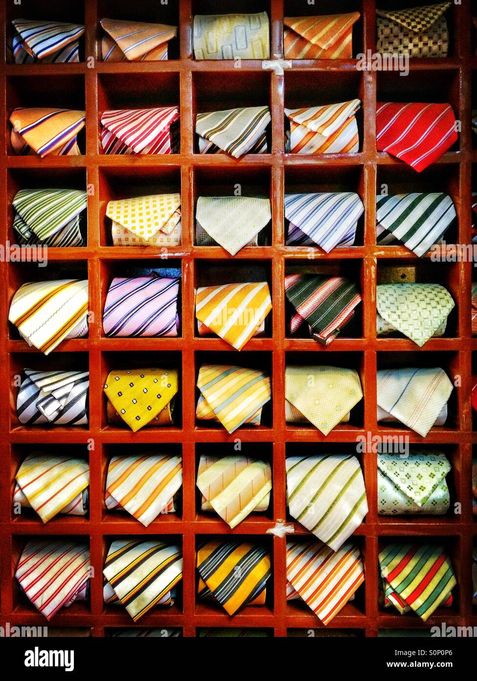 Tie rack Stock Photo, Royalty Free Image: 310270190 - Alamy