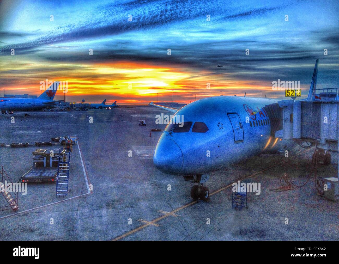 airplane-parked-at-vancouver-airport-at-