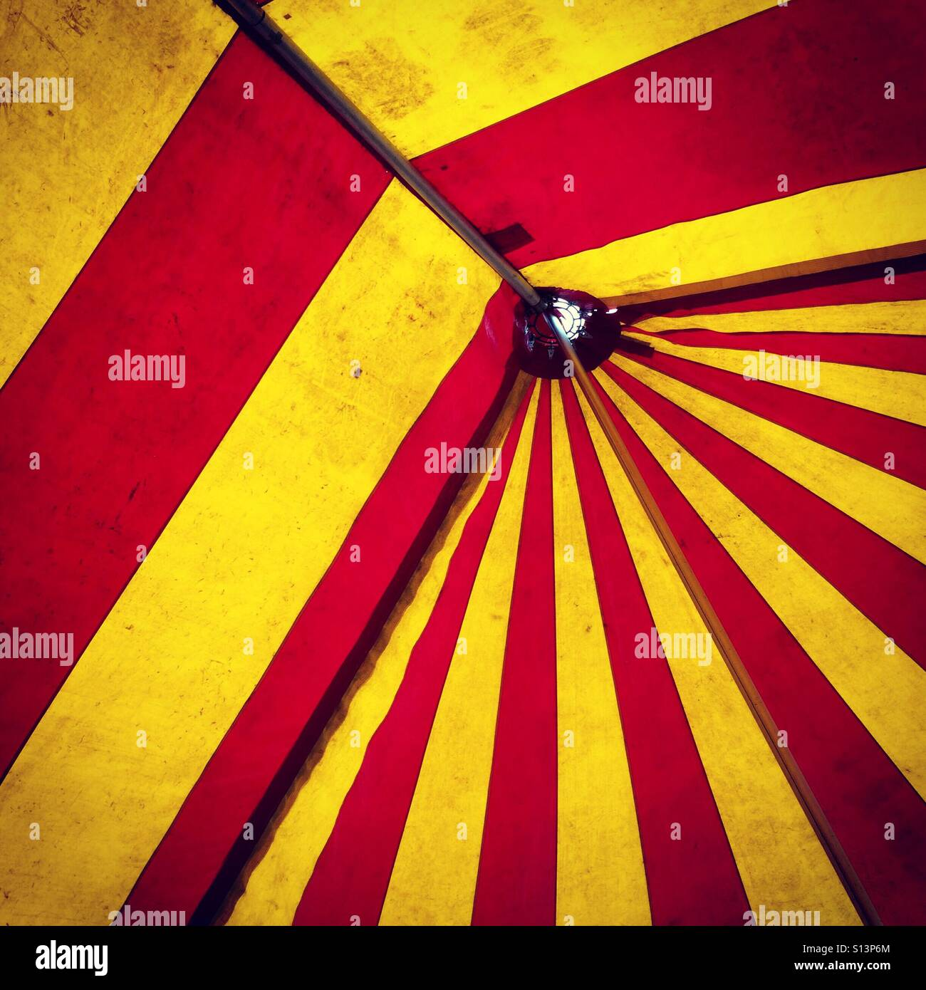 The inside of a red and yellow big top circus tent  sc 1 st  Alamy & The inside of a red and yellow big top circus tent Stock Photo ...