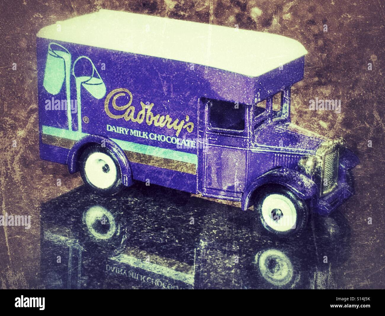Diecast vehicle, a Cadbury's Dairy Milk Chocolate delivery van ...