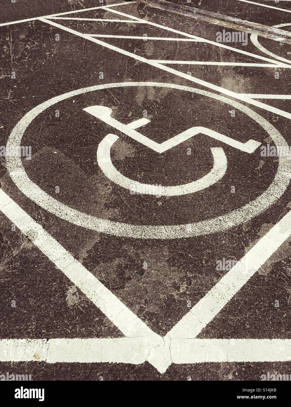 A grunge effect picture of a disabled persons car parking space a grunge effect picture of a disabled persons car parking space the symbol of a buycottarizona