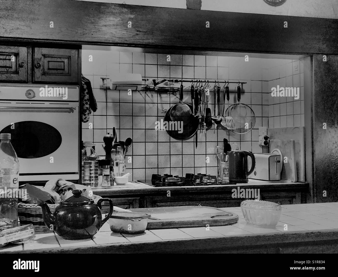 Superb Kitchen Interior, Chateau De Bambecq, Racquinghem, Pas De Calais Nord,  France