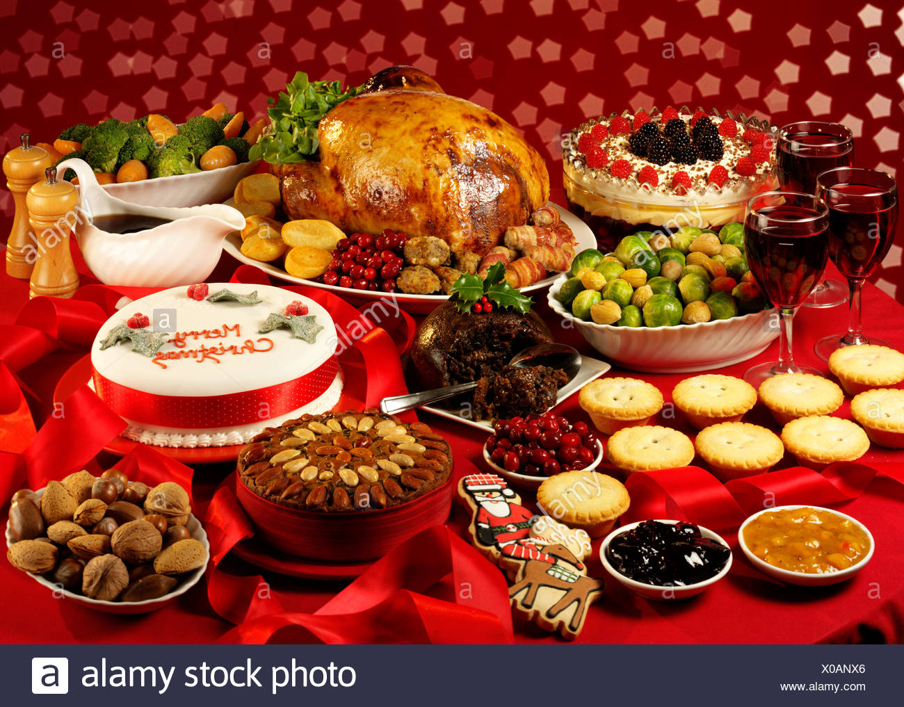 Christmas Turkey Pudding Stock Photos & Christmas Turkey ...