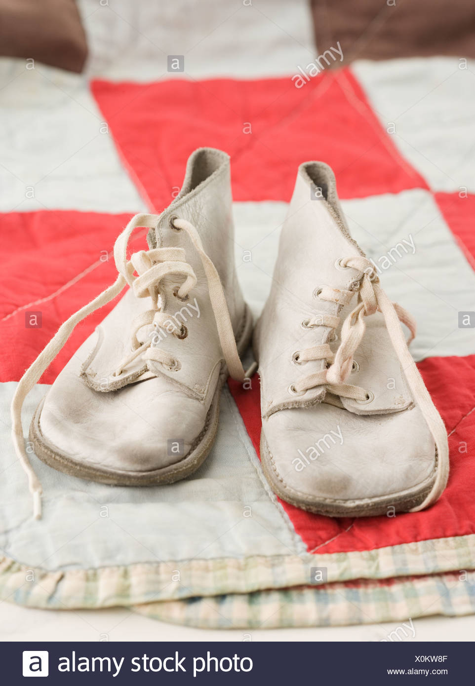 Old fashioned baby shoes 11