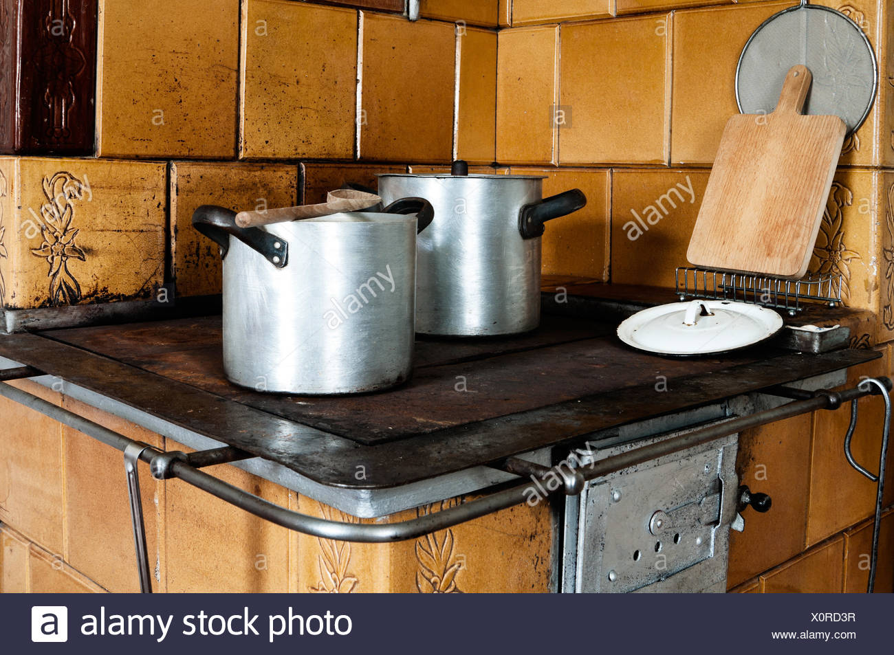 Old Fashioned Kitchen Stove