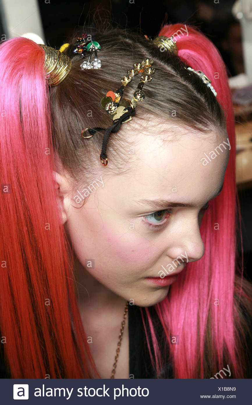 Luella Backstage London Ready To Wear Autumn Winter New Rave Look