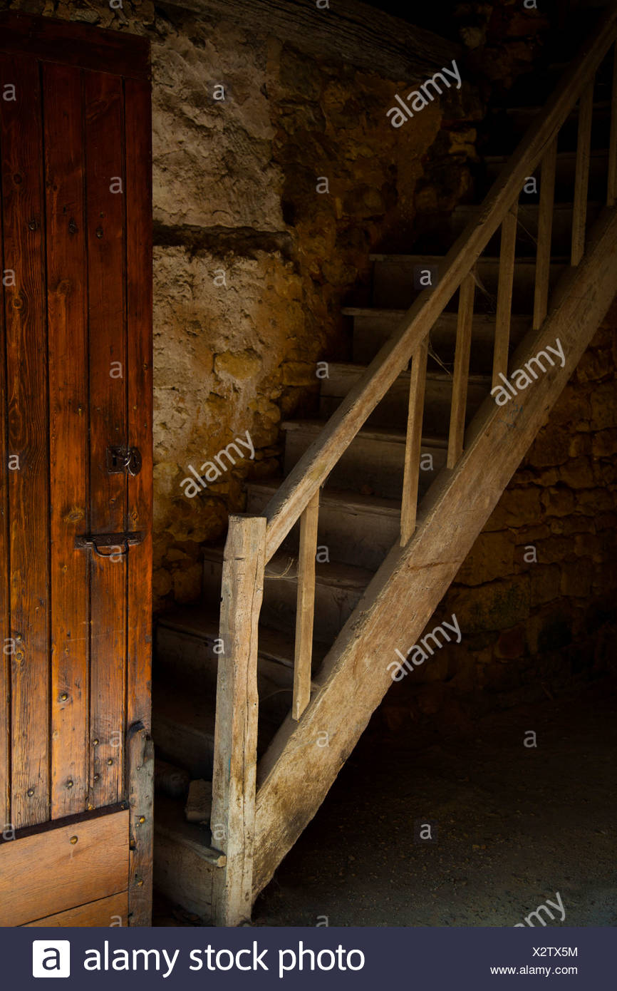 Old stairs in Europe 30