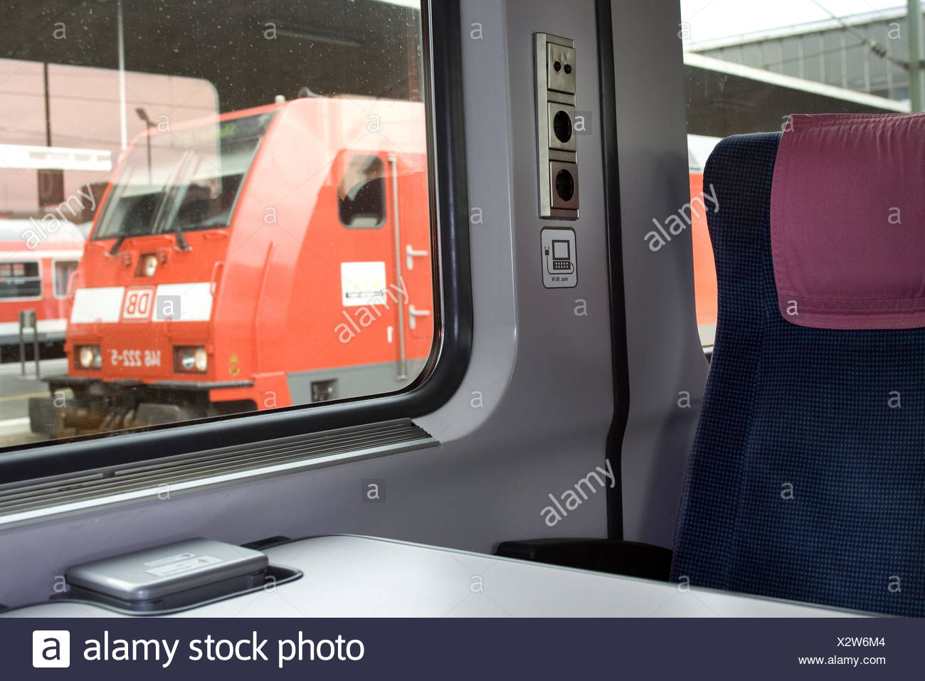 Are there sockets on the trains and where to look for them 13