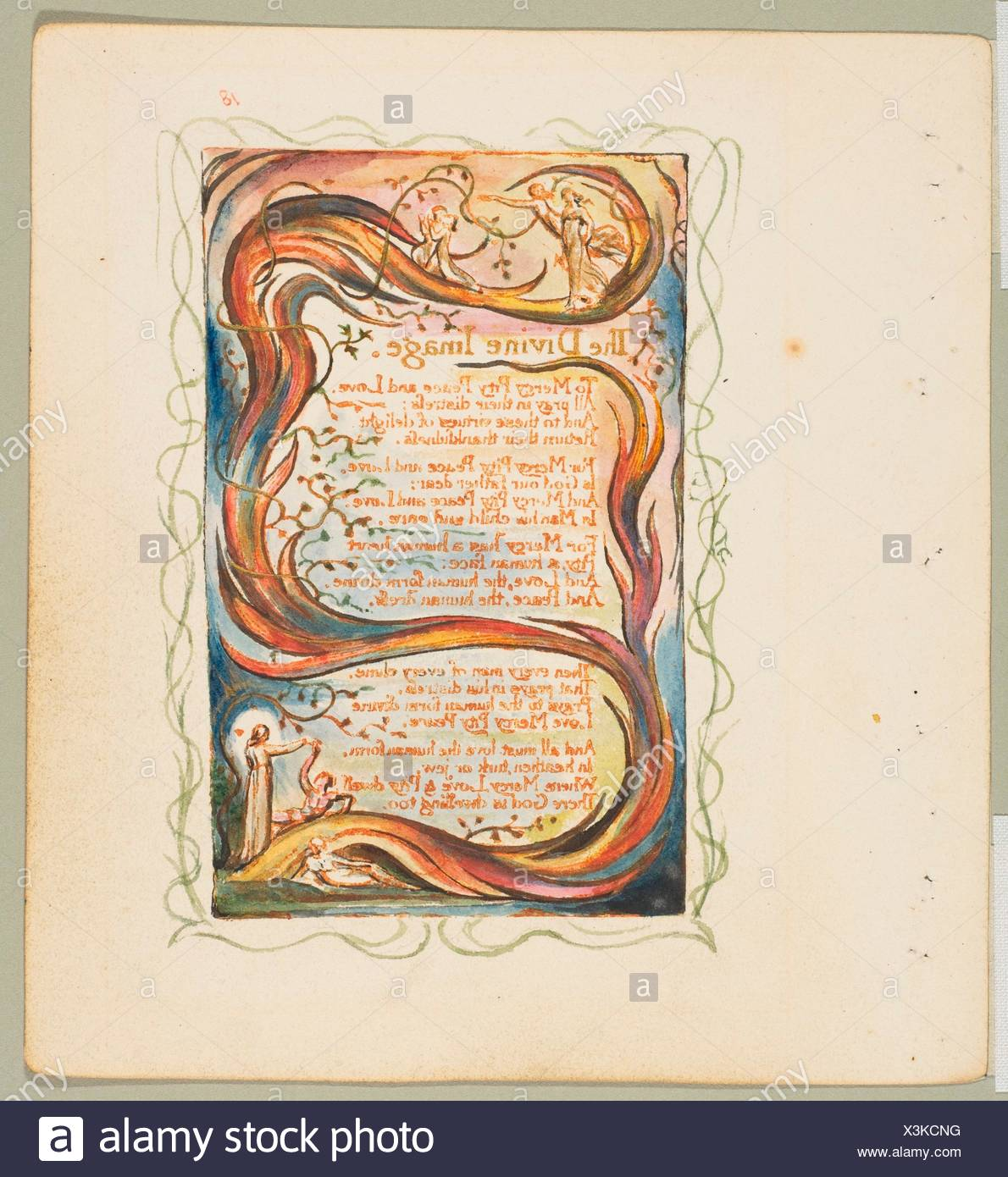 Songs Of Innocence And Of Experience The Divine Image Artist