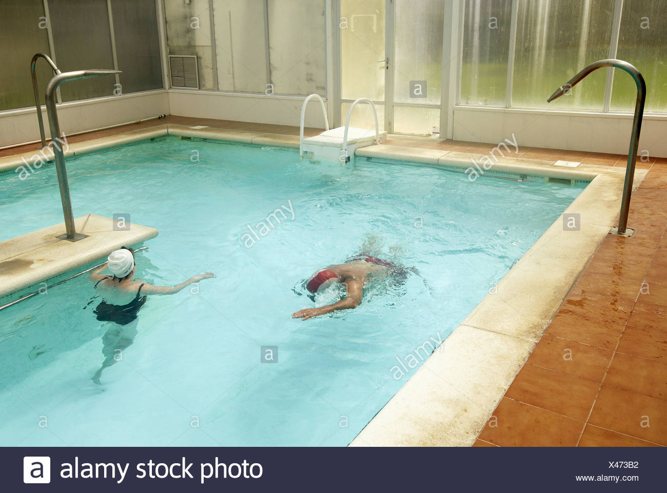 Thermal baths, spa, Lierganes, Cantabria, Spain Stock Photo ...