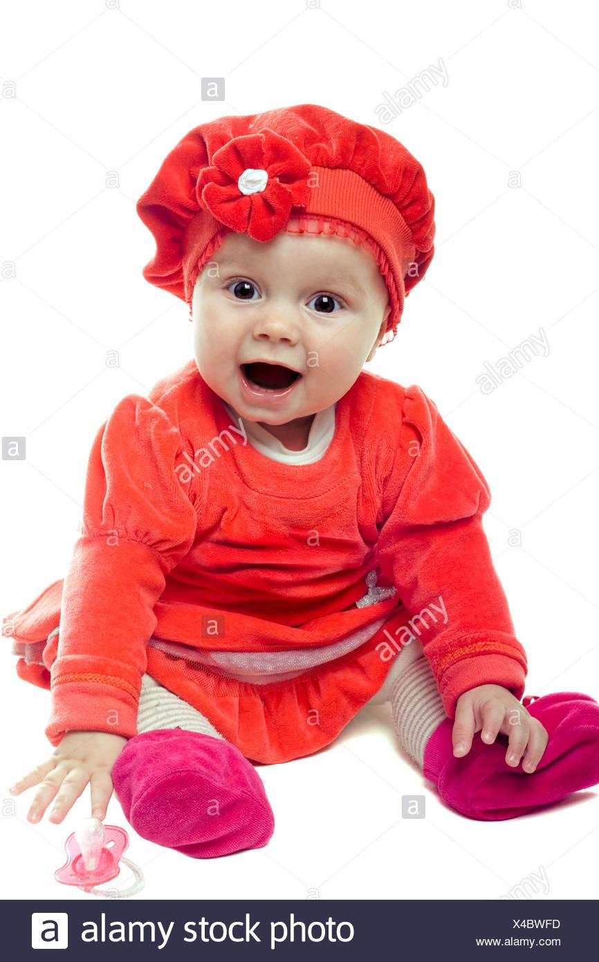 nice baby girl stock photo: 278086017 - alamy