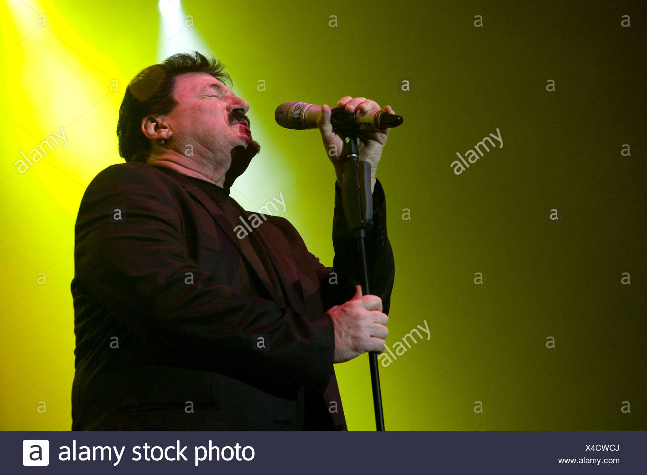 Bobby Kimball, singer and frontman of U.S. band Toto live at Rock ...
