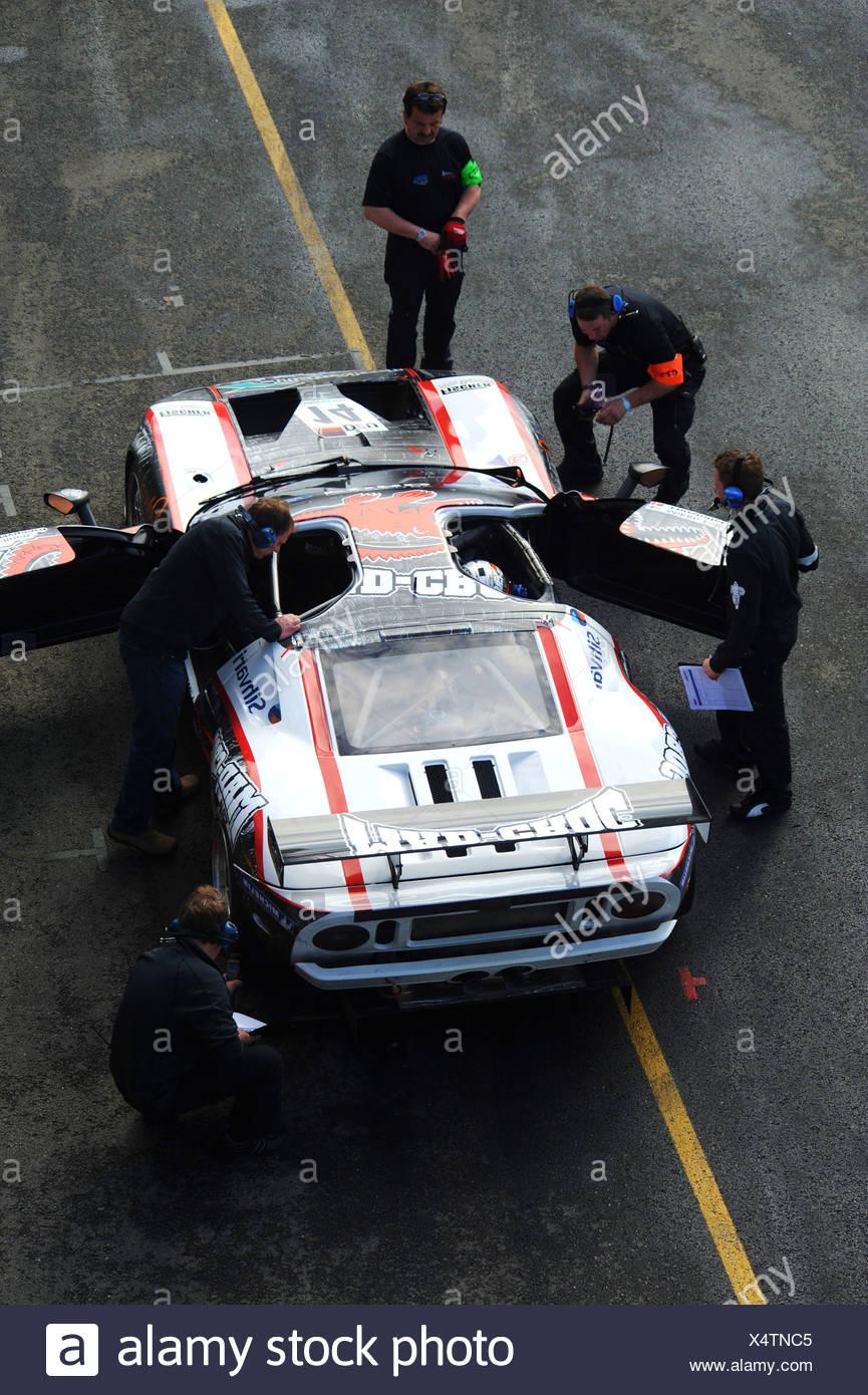 Ford Gt Of Fischer Racing Team Bruenn Or Brno Czech Republic Europe