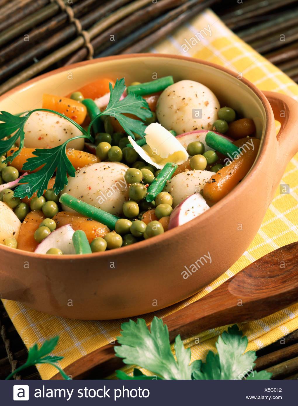 Vegetable Jardiniere Stock Photo 278702622 Alamy
