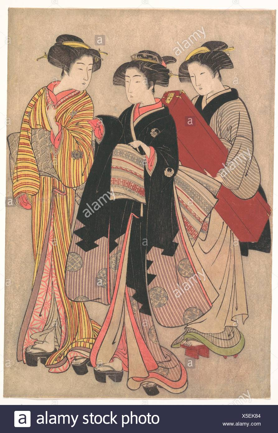 Artist: Kitao Shigemasa (Japanese, 1739-1820); Period: Edo period  (1615-1868); Date: 1739-1820; Culture: Japan; Medium: