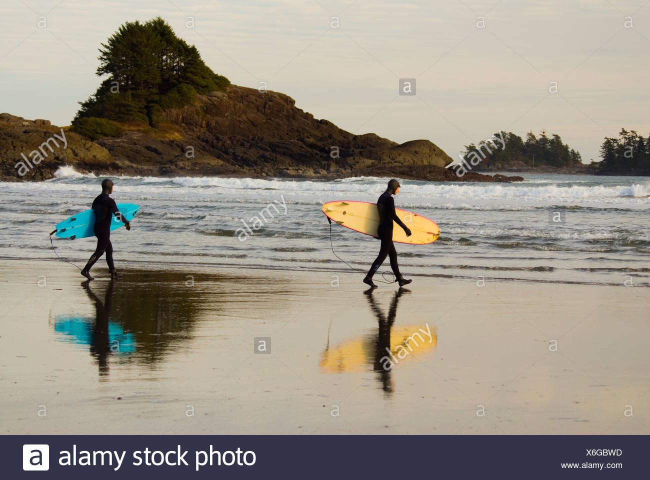 Cox bay near tofino stock photos cox bay near tofino stock surfers head into the chilly waters of cox bay near tofino on the west nvjuhfo Image collections