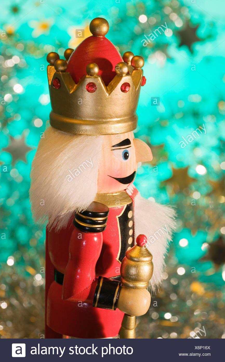 Nutcracker a Christmas decorations close up Stock Photo: 279537746 ...