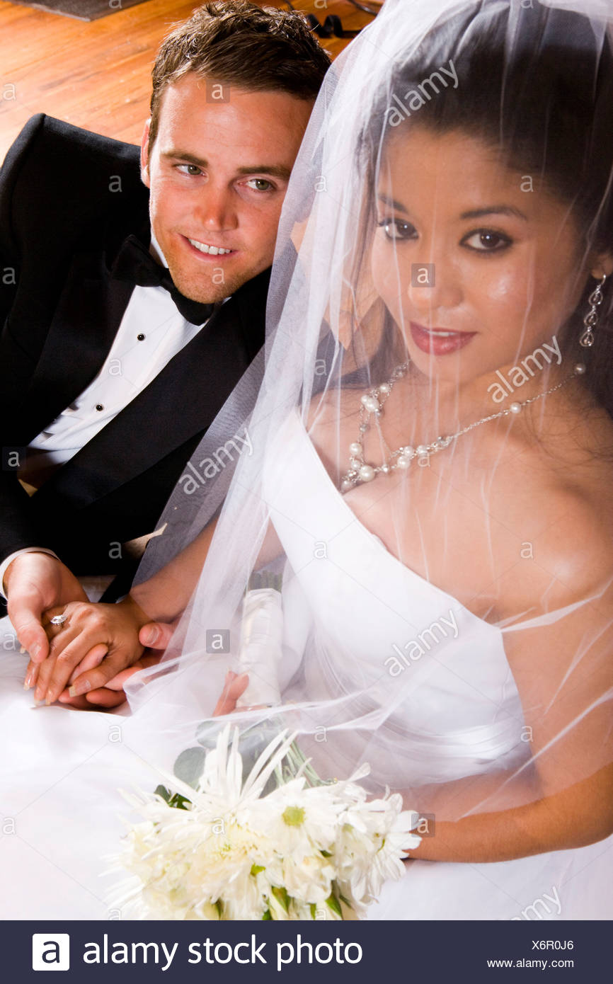 Interracial bride images