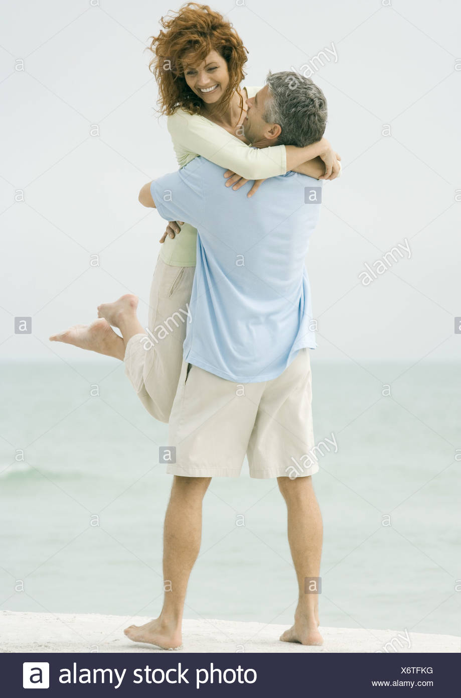 Mature woman picked up