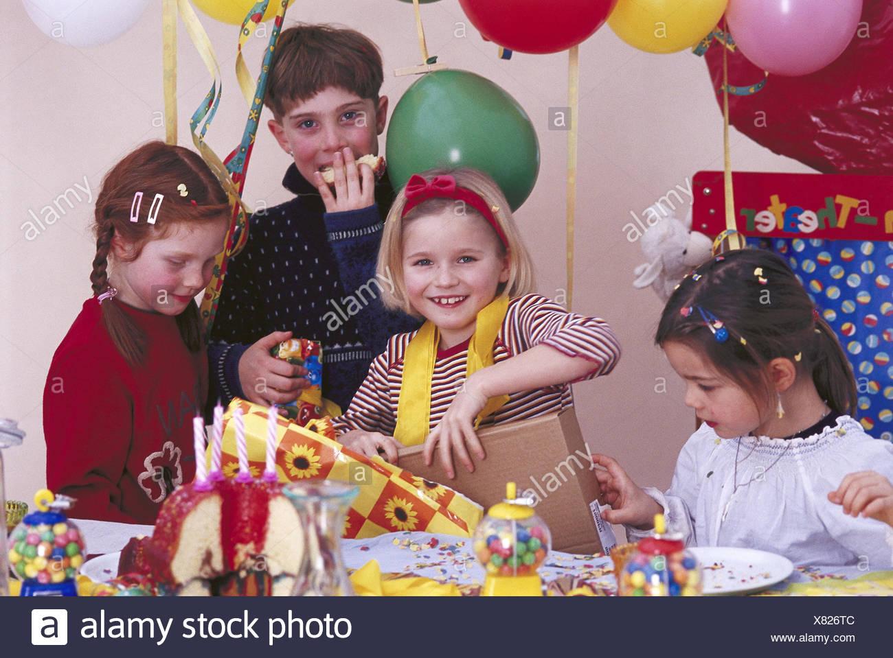 children s birthday party girl present talk birthday