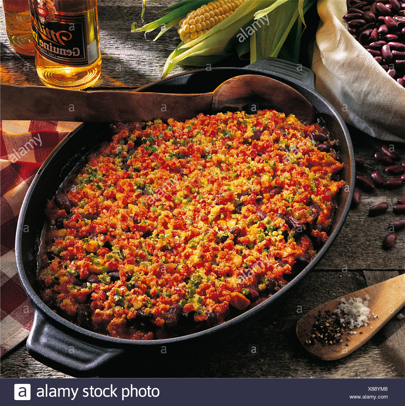 Texan chili bake usa recipe available for a fee stock photo texan chili bake usa recipe available for a fee forumfinder Gallery