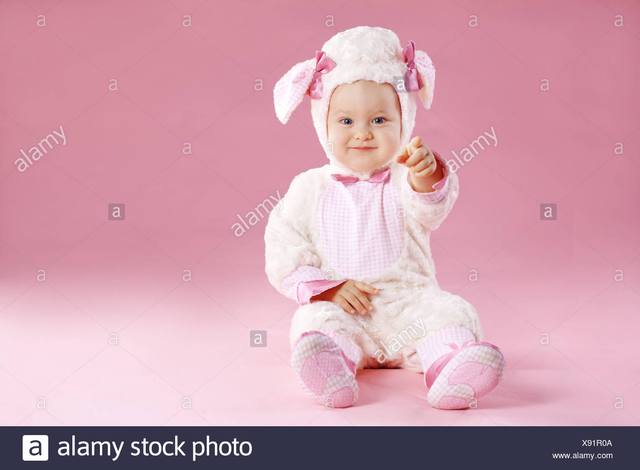 Very cute baby wearing sheep costume  sc 1 st  Alamy & Very cute baby wearing sheep costume Stock Photo: 280937786 - Alamy