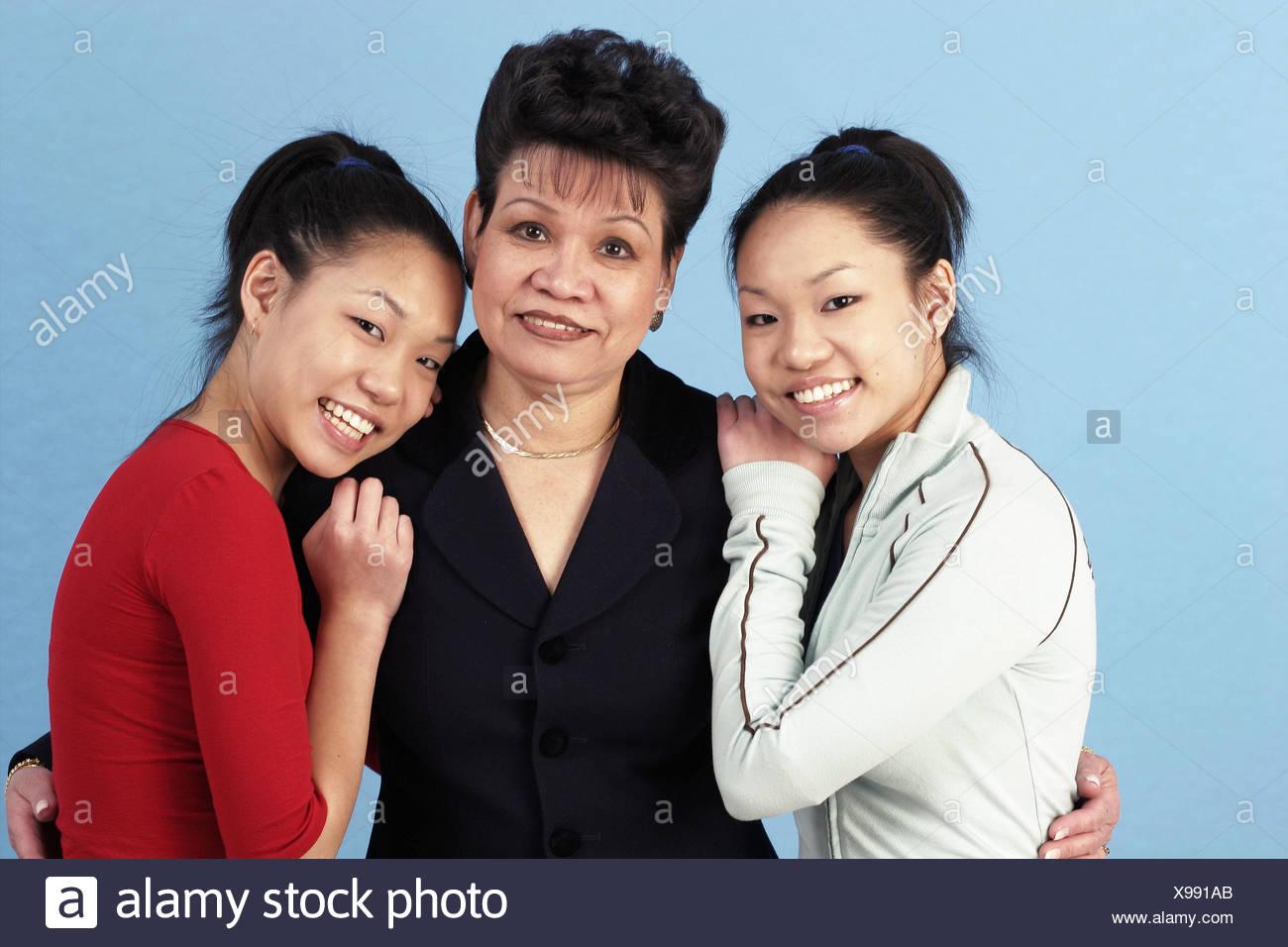 Confirm. happens. Female asian twins