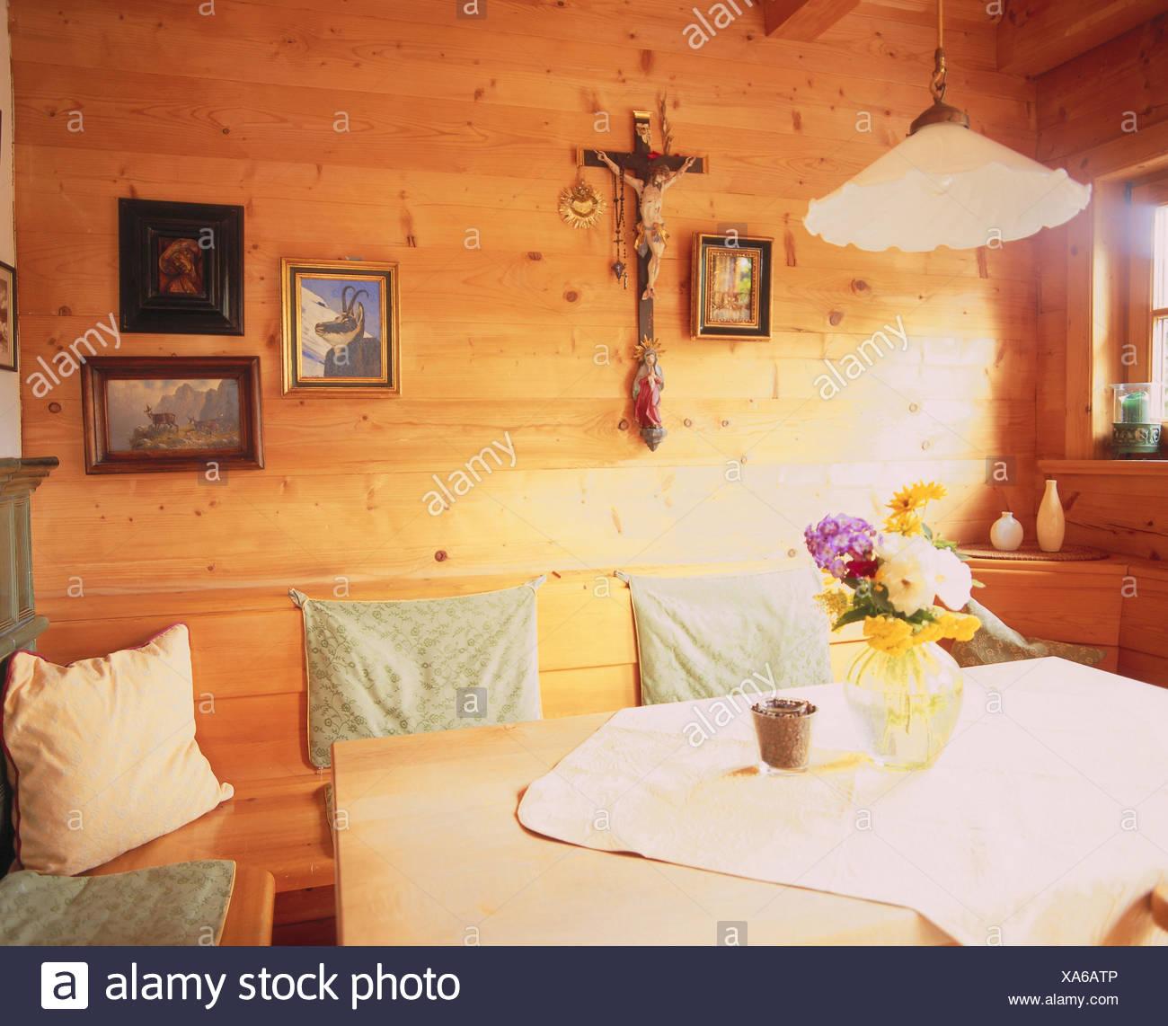 Residential room, detail, room, farmhouse parlour, cuisine, living ...