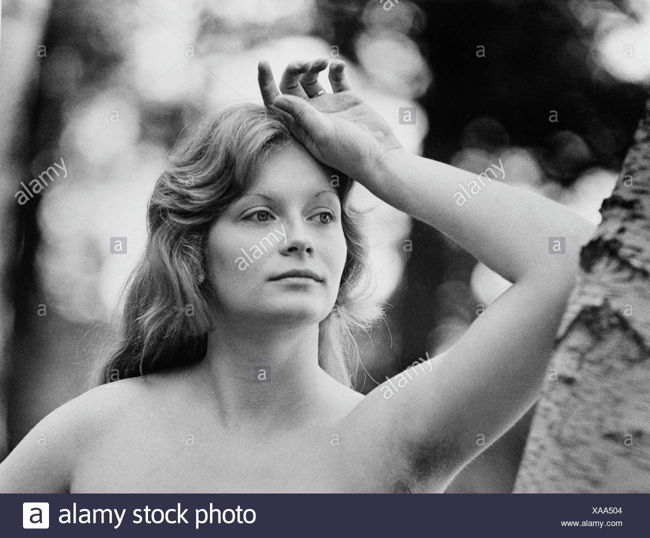 Young woman, East Germany, around 1972