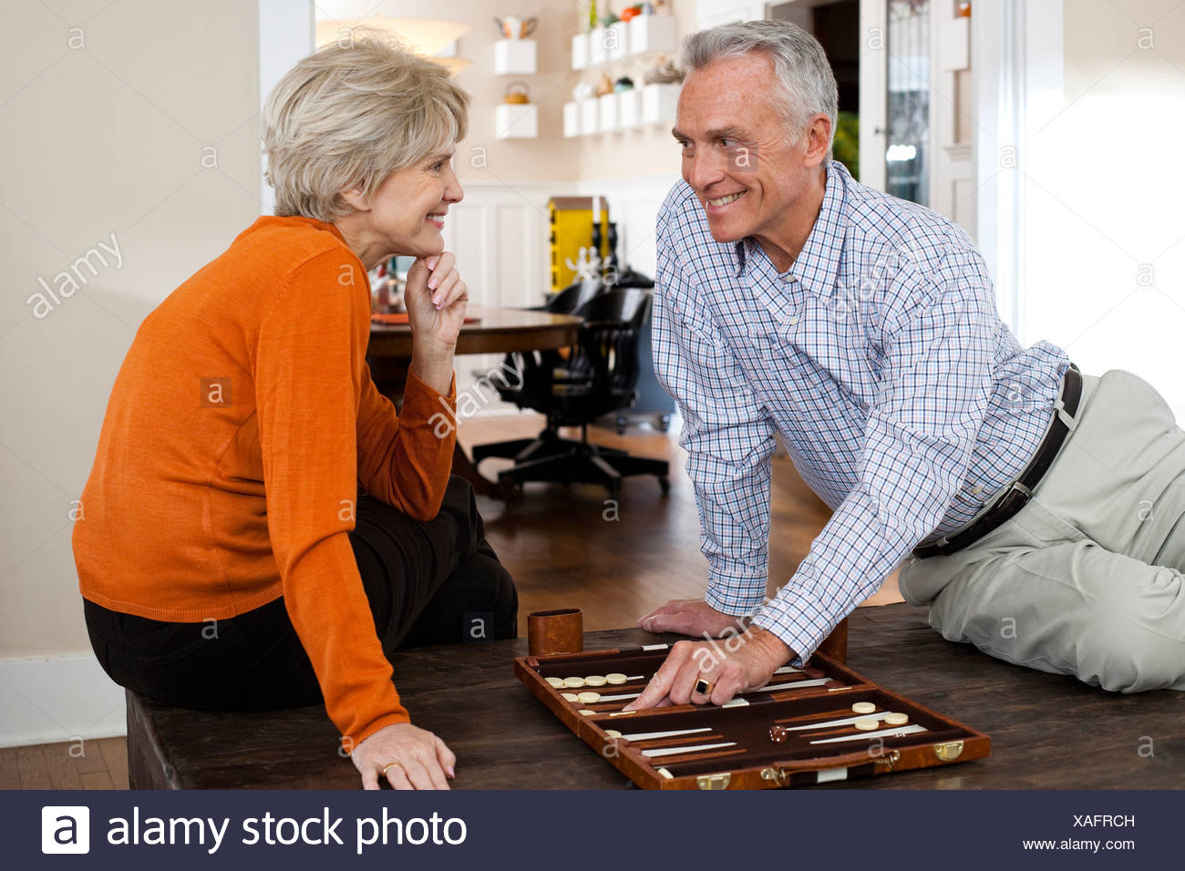 Mature couple playing with each other!!