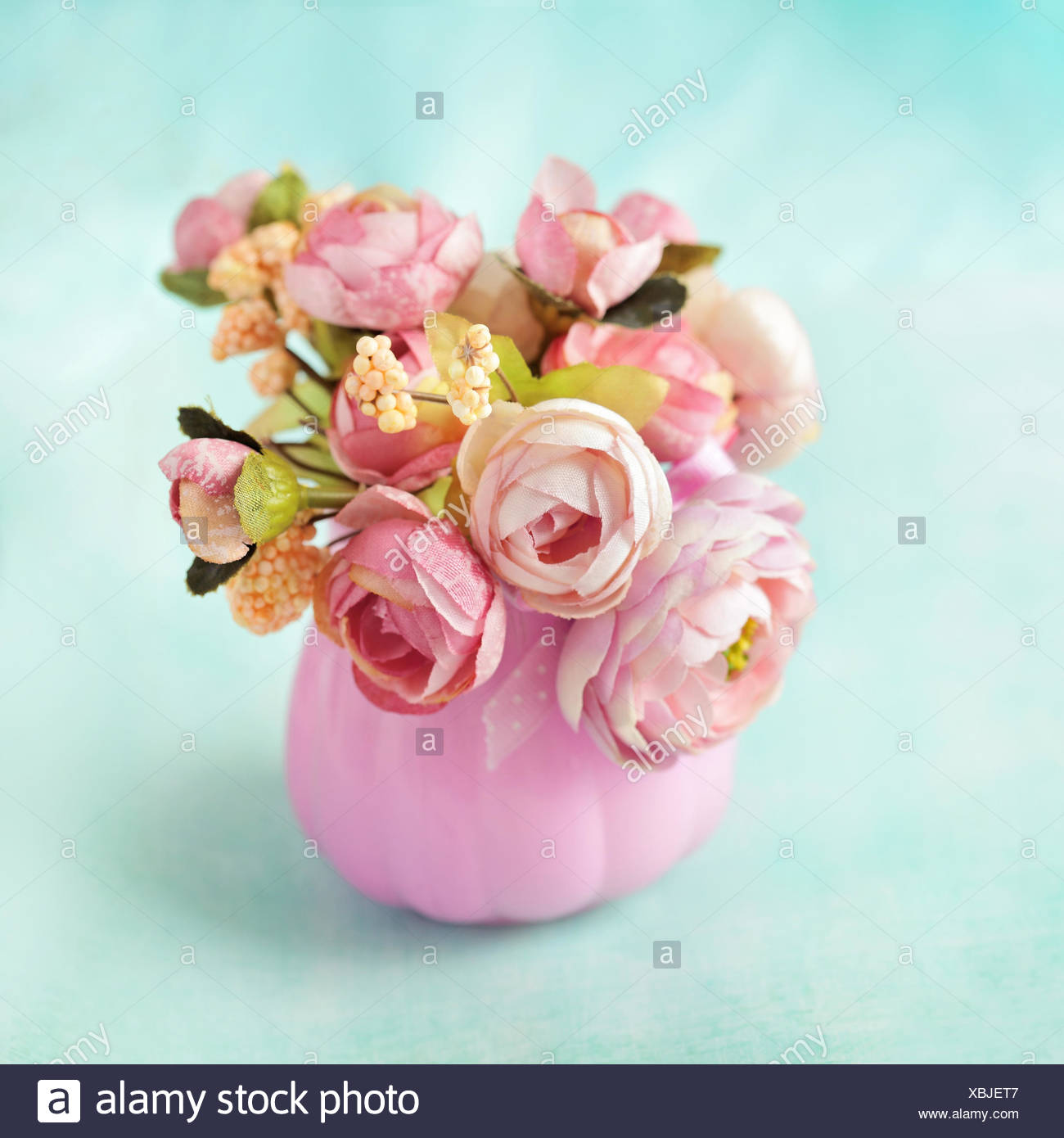 Fabric Flowerdecorationrose Bouquet Stock Photo 282533895 Alamy