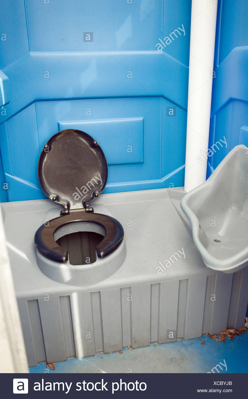 A commode in a camping toilet Stock Photo: 283004915 - Alamy