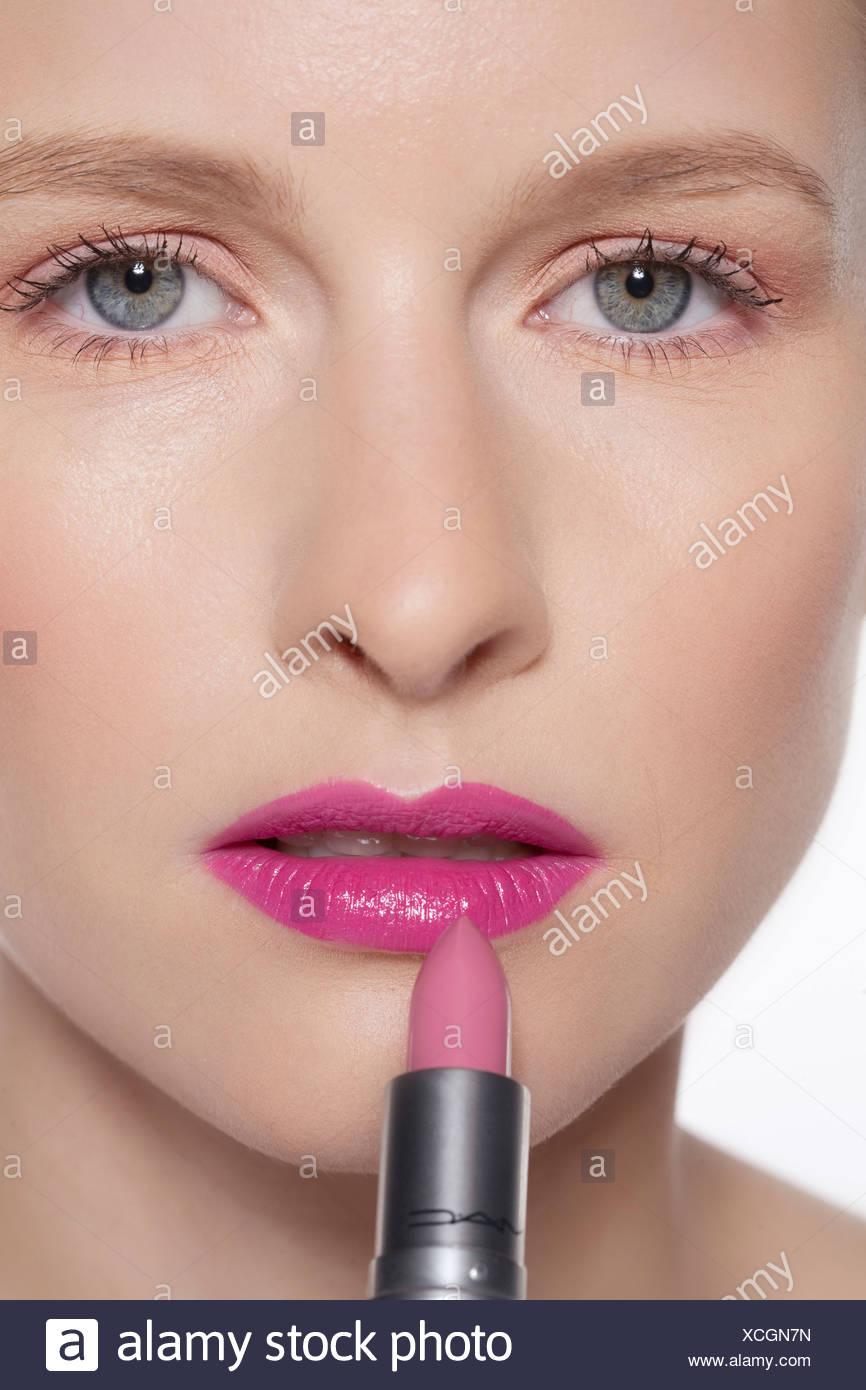 Pink LipStick Head