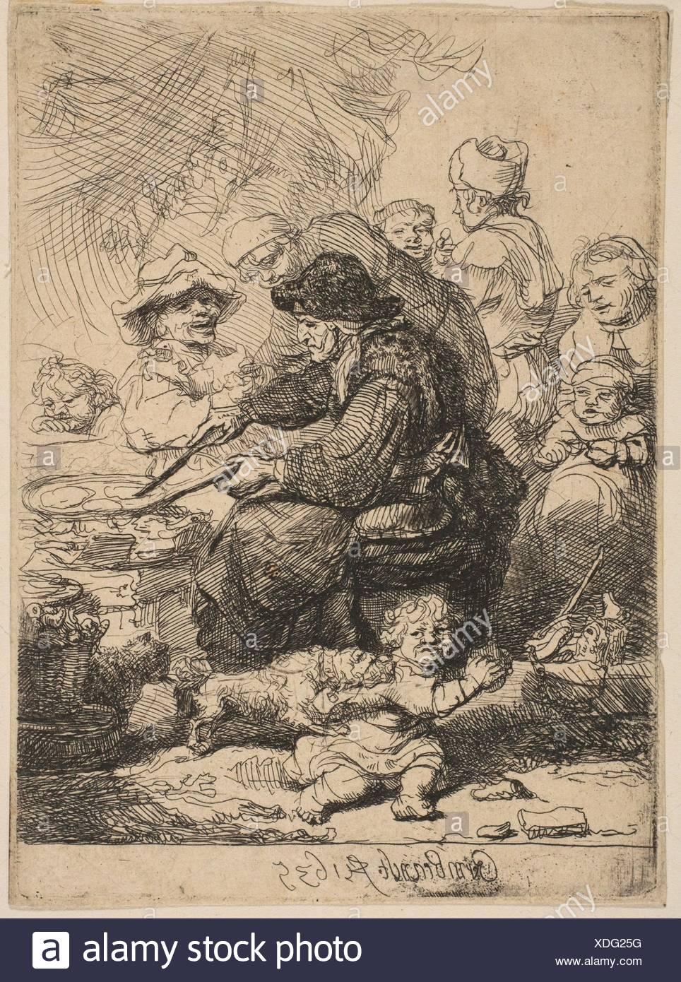 Artist: Rembrandt (Rembrandt van Rijn) (Dutch, Leiden 1606-1669 Amsterdam);  Date: 1635; Medium: Etching; Dimensions: Sheet: 4 3/8