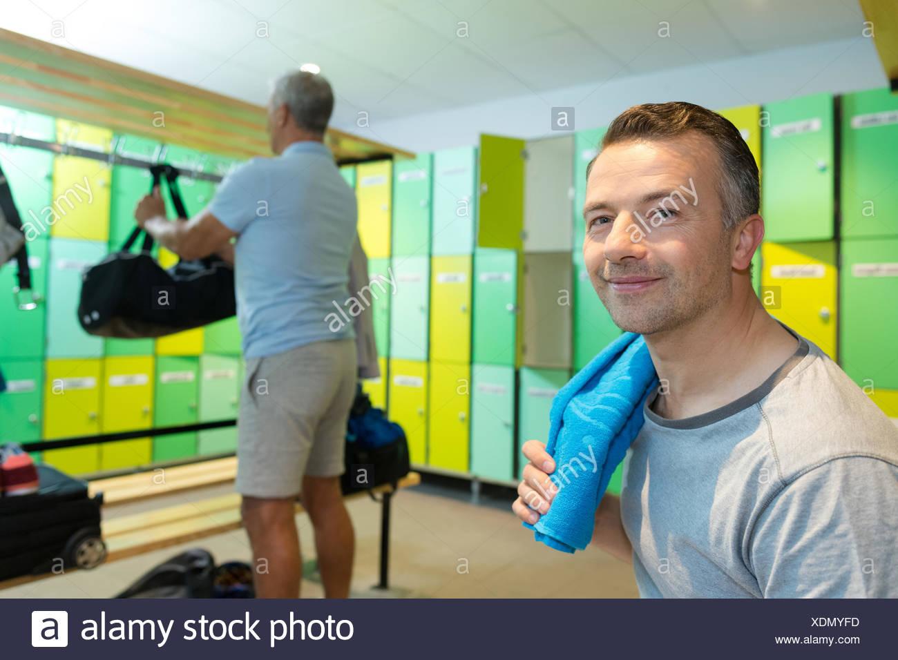 locker Mature room men