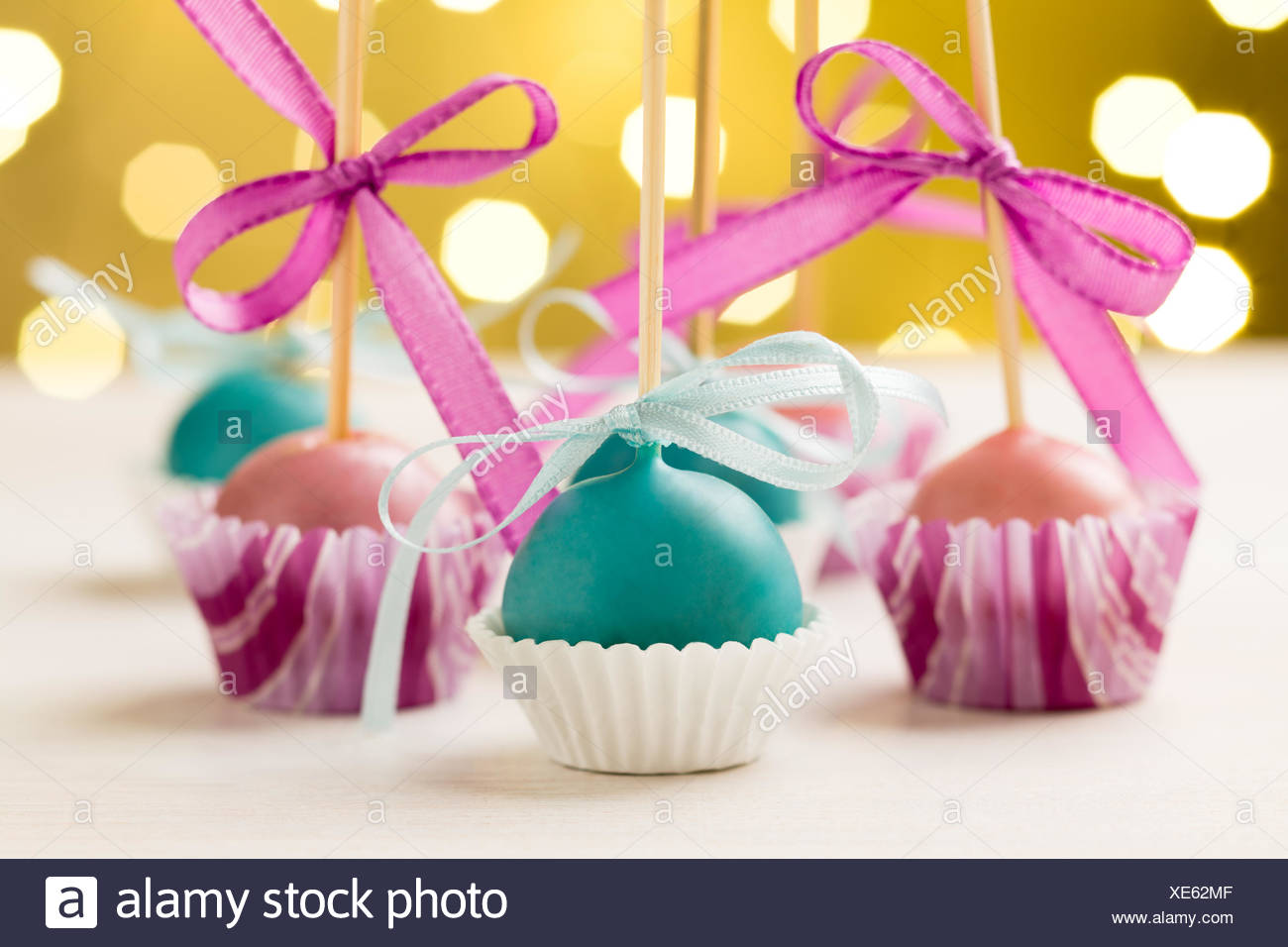 Colourful cake pops Stock Photo: 284104927 - Alamy