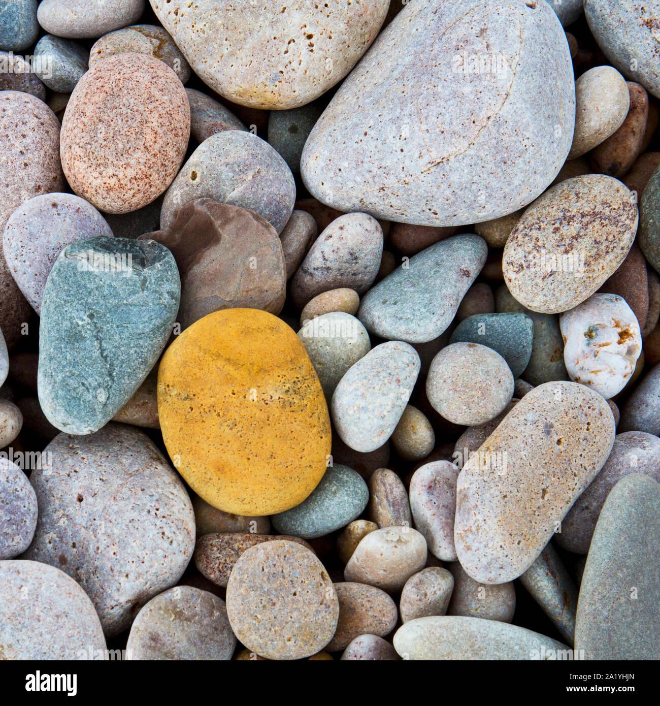 Strand Steine, Islay Schottland Stockfoto
