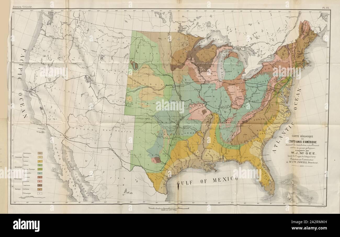 Vereinigte Staaten Von Amerika Karte Stockfotos Vereinigte