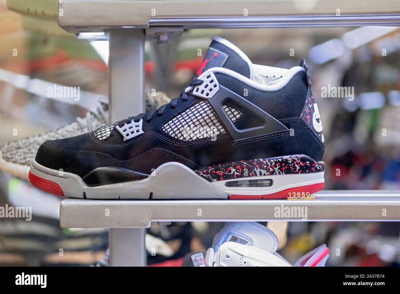 Air Jordan Schuhe Stockfotos & Air Jordan Schuhe Bilder Alamy