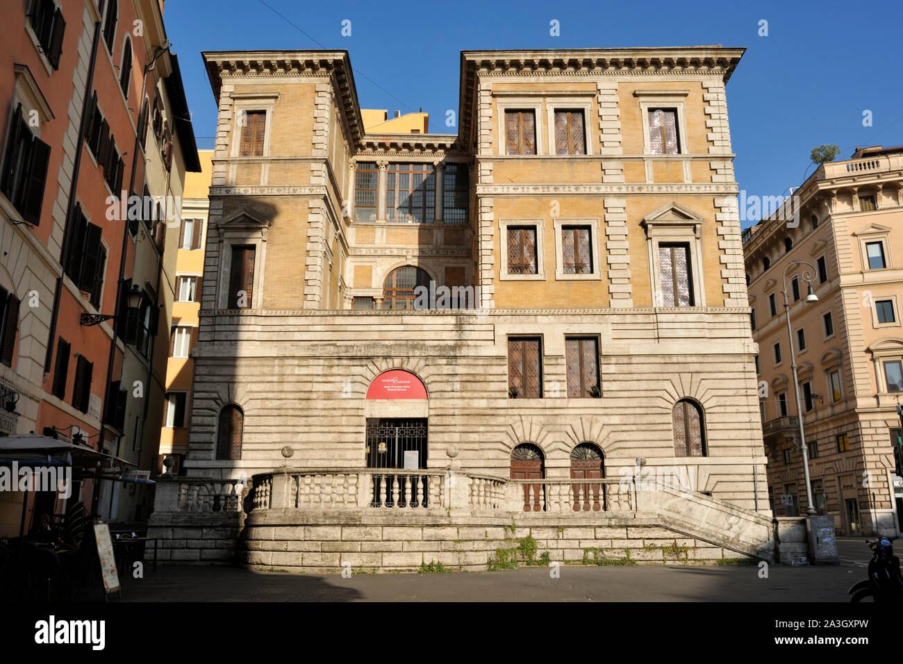 Italien, Rom, Museo barracco, Piccola farnesina Stockfoto